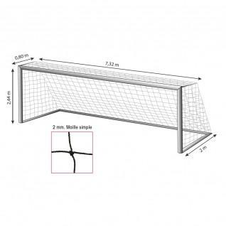 Soccer net 11 players 2mm Tremblay MS