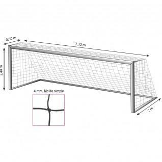 goal net 11 white 4mm
