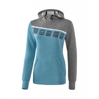 woman hooded sweatshirt Erima 5-C