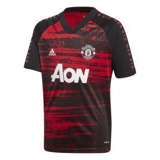 Children's warm-up jersey Manchester United 2020/21