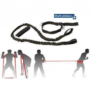 Multi-activity reinforcing elastic