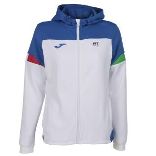 Italian tennis federation jacket for women Joma