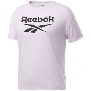 T-shirt femme Reebok Workout Ready Supremium Logo
