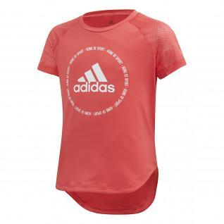 T-shirt fille adidas Bold [Size 5/6years]