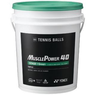 Barrel tennis balls Yonex TMP-40 x60