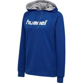Hooded sweatshirt Hummel hmlgo cotton logo