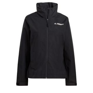Women's rain jacket adidas Terrex Multi Rain.Rdy Primegreen Two-Layer