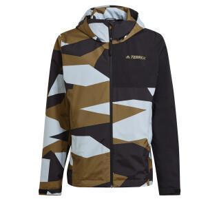 Rain jacket adidas Terrex Primegreen Allover