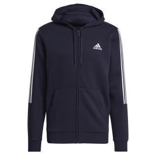 Jacket adidas Essentials Fleece Cut 3-Bandes Track