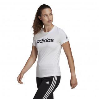 adidas Women's Essentials Slim Logo T-Shirt
