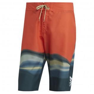 adidas KneeLength Graphic Board Swim Shorts