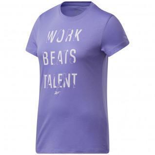 Reebok Work Beats Talent Graphic women's T-shirt