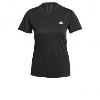 adidas Women's T-Shirt Aeroready Designed 2 Move 3-Stripes Sport