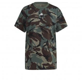 adidas Essentials Boyfriend Camouflage Women's T-Shirt