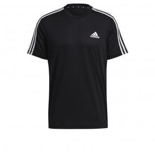 adidas Aeroready Designed To Move Sport 3-Band T-Shirt