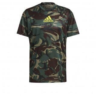 adidas Designed To Move Aeroready Camouflage Graphic T-Shirt