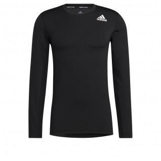 adidas Techfit Compression Long Sleeve T-Shirt