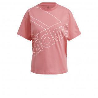 adidas Women's T-Shirt Giant Logo