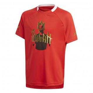 adidas Salah Football Inspired Kids T-Shirt
