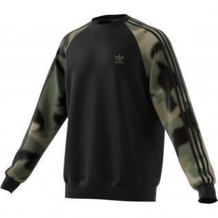 adidas Originals Stripes Crewneck Sweatshirt