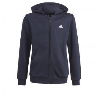 Hooded zip jacket for kids adidas Essentials