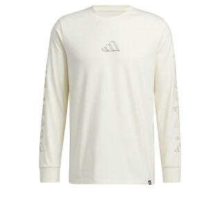 adidas Geo Graphic Long Sleeve T-Shirt