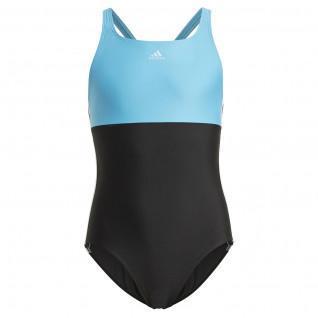 Children's swimsuit adidas Colorblock 3S