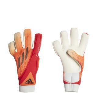 Goalkeeper gloves Adidas X GL LGE J