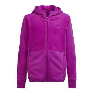 Child hoodie adidas Designed to Move Fleece