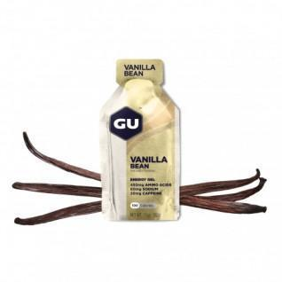 Batch of 24 gels Gu Energy vanille