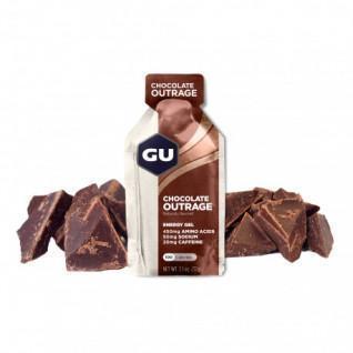 Lot 24 Gu Energy Gel intense chocolate