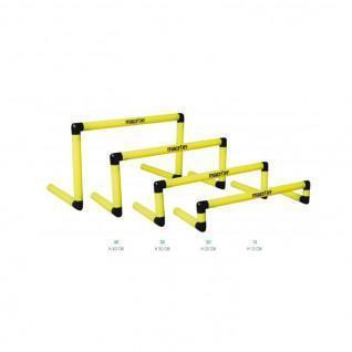 Set of 12 hurdles Macron 20 cm