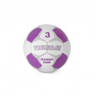 Tremblay training hand ball