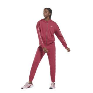 Hooded tracksuit with women's piping Reebok Training Essentials