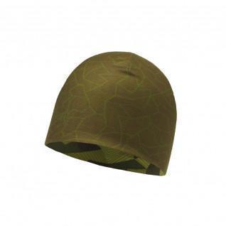 Reversible hat Buff block camo green