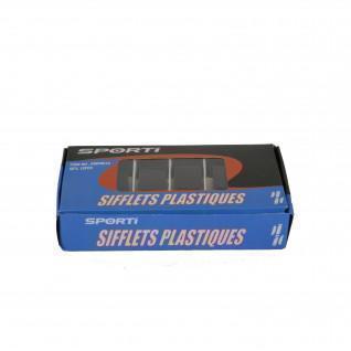 Set of 12 plastic whistle SportifFrance