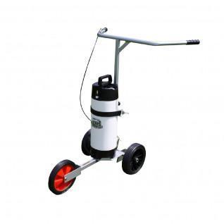spray paint tracing Wheelbarrow