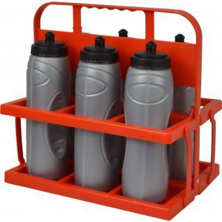 Bottle holder + 6 bottles 100cl Sporti France
