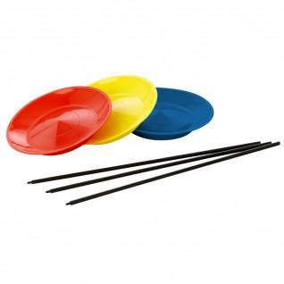 Juggling plate + PVC Tremblay stick