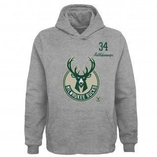 Kids Hoodie Outerstuff Player NBA Milwaukee Bucks