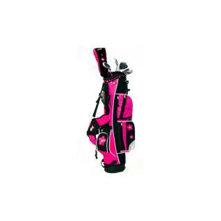 Kit (bag + 4 clubs) right-handed girl Boston Junior classic