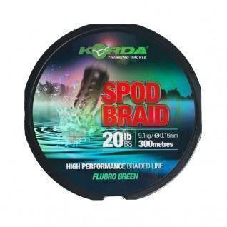 Spod Braid Korda 300m (9.1kg) [Size 0.16mm]