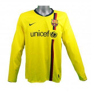 Barcelona 2008/2009 Messi long sleeve outdoor jersey