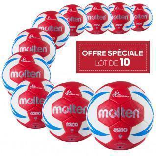 Set of 10 balloons training Molten HX3200 FFHB