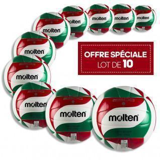 Set of 10 training balls Molten BVL-V5M2501-L