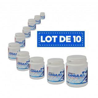 Set of 10 white high-performance resins Sporti France - 200 ml