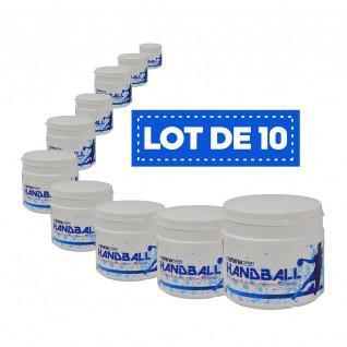 Set of 10 white high-performance resins Sporti France - 500 ml