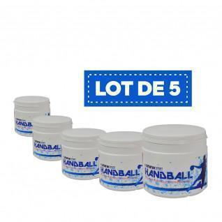 Set of 5 white High Performance Resins Sporti France - 500 ml