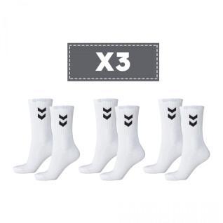 Set of 3 socks Hummel Basic