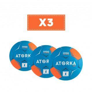 Set of 3 children's balloons Atorka H100 Soft